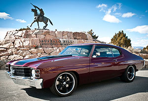 Raffle car: 1972 Chevy Chevelle with SS options