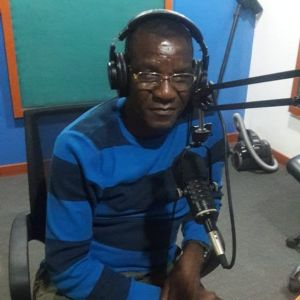 Francis at LuLu FM radio waiting to go on air
