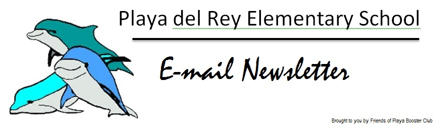 PDR Elementary School Email Newsletter
