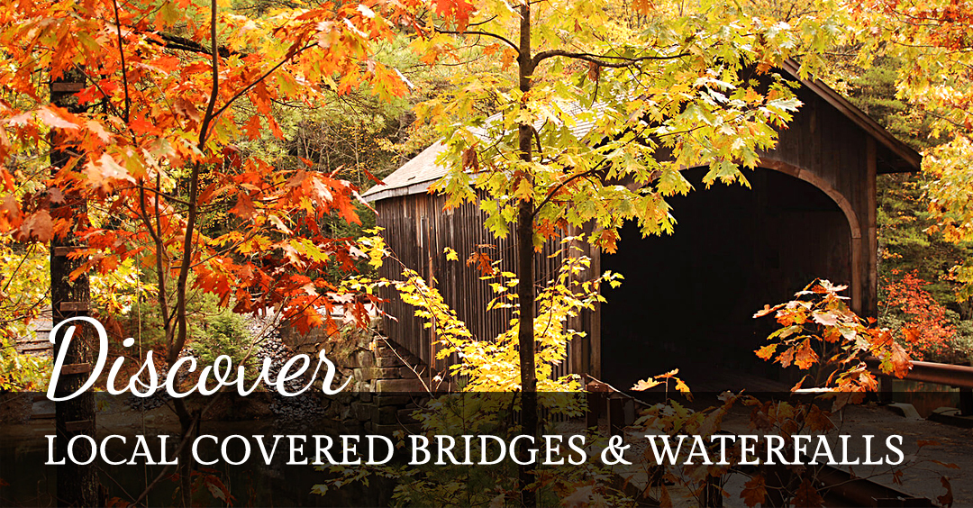 Discover Covered Bridges & Waterfalls
