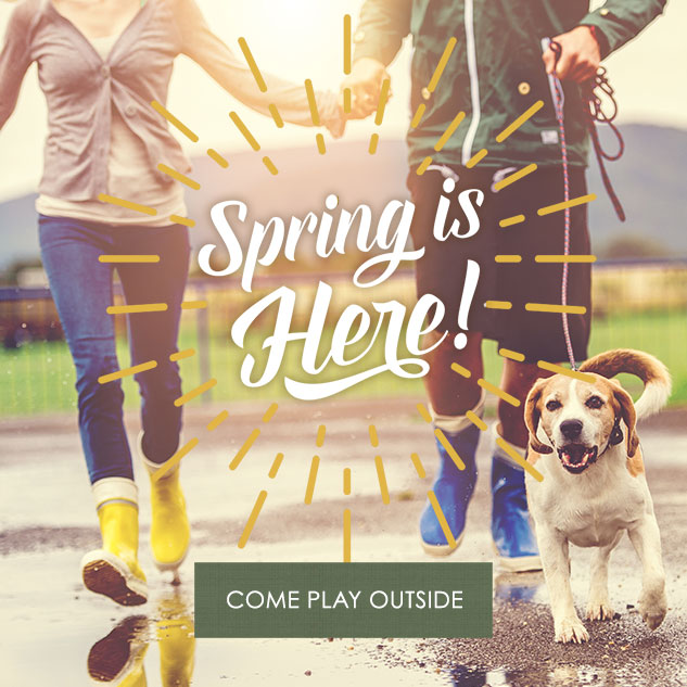 Spring is Here! Come Play Outside