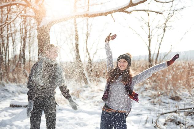 Winter Getaway in Maine