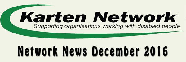 Karten Network December 2016 Newsletter
