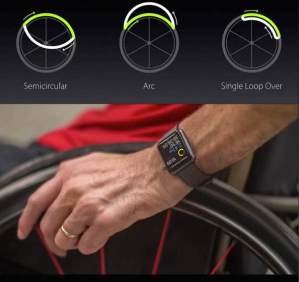 Apple WatchOS3 wheelchair support