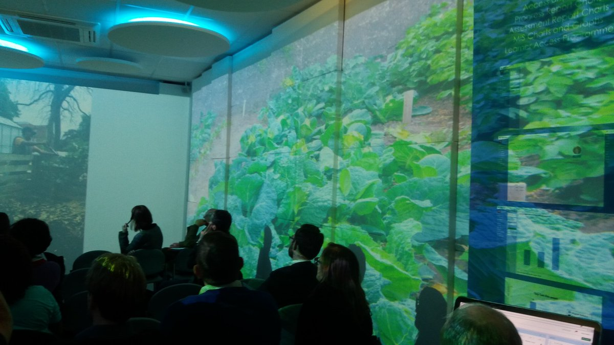 Horticulture in Share's immersive space