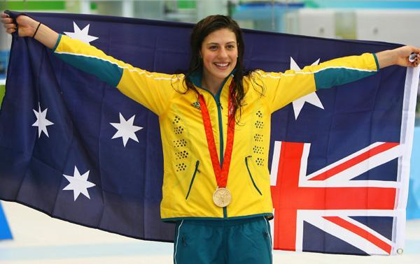 Stephanie Rice from Australia