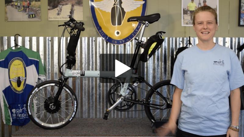 The pakiT Folding e-bike