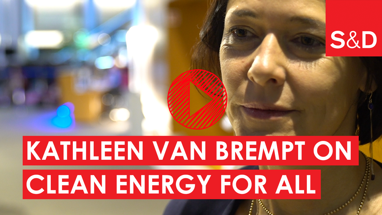 Kathleen Van Brempt on clean energy for all