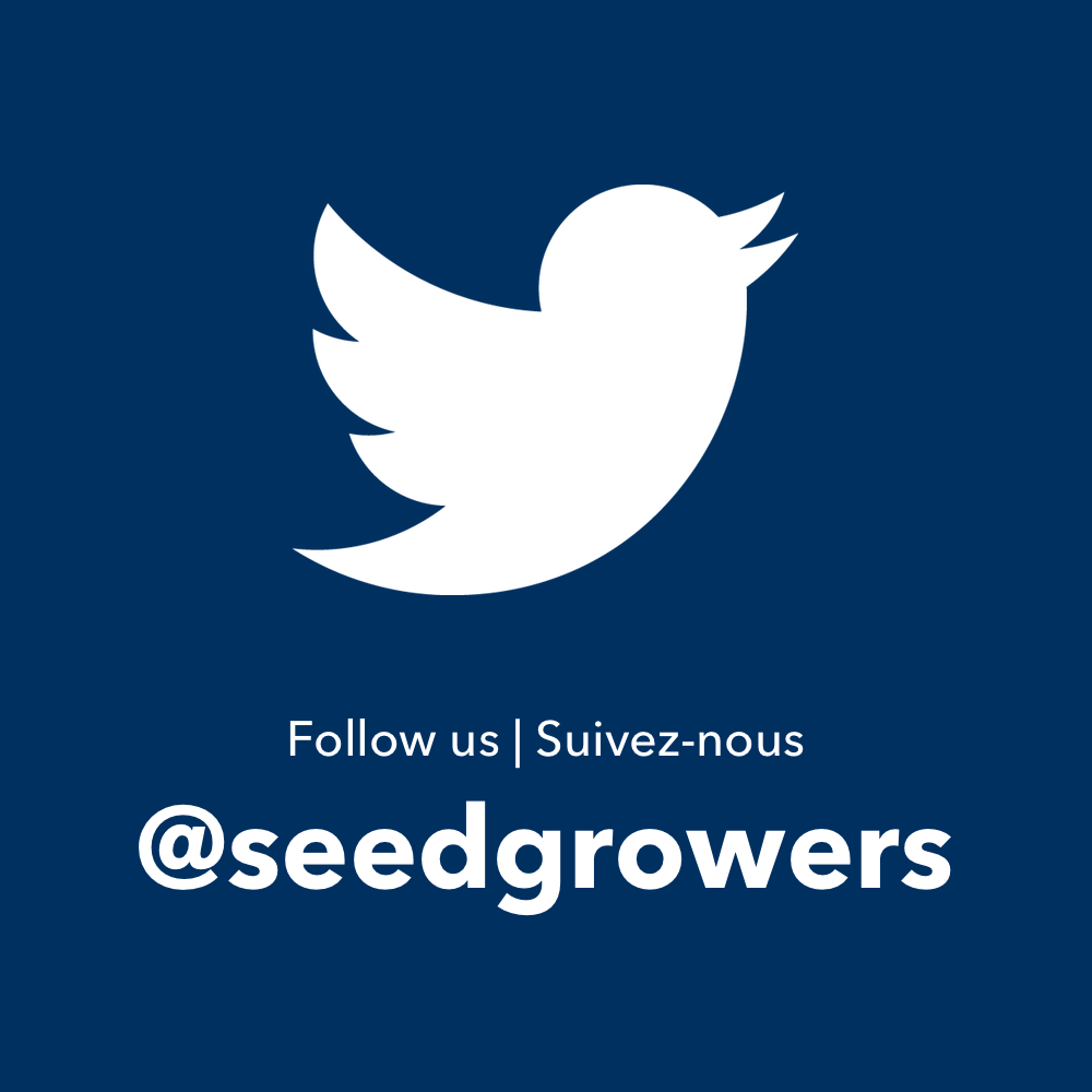 CSGA Twitter @seedgrowers