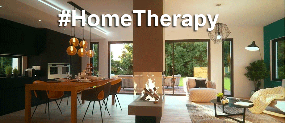 #HomeTherapy