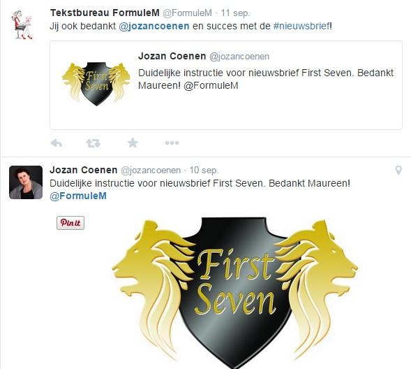 Twitter First Seven