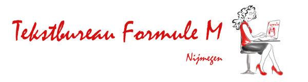 Tekstbureau Formule M banner