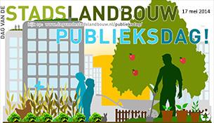 Stadslandbouw Publieksdag 17 mei 2014