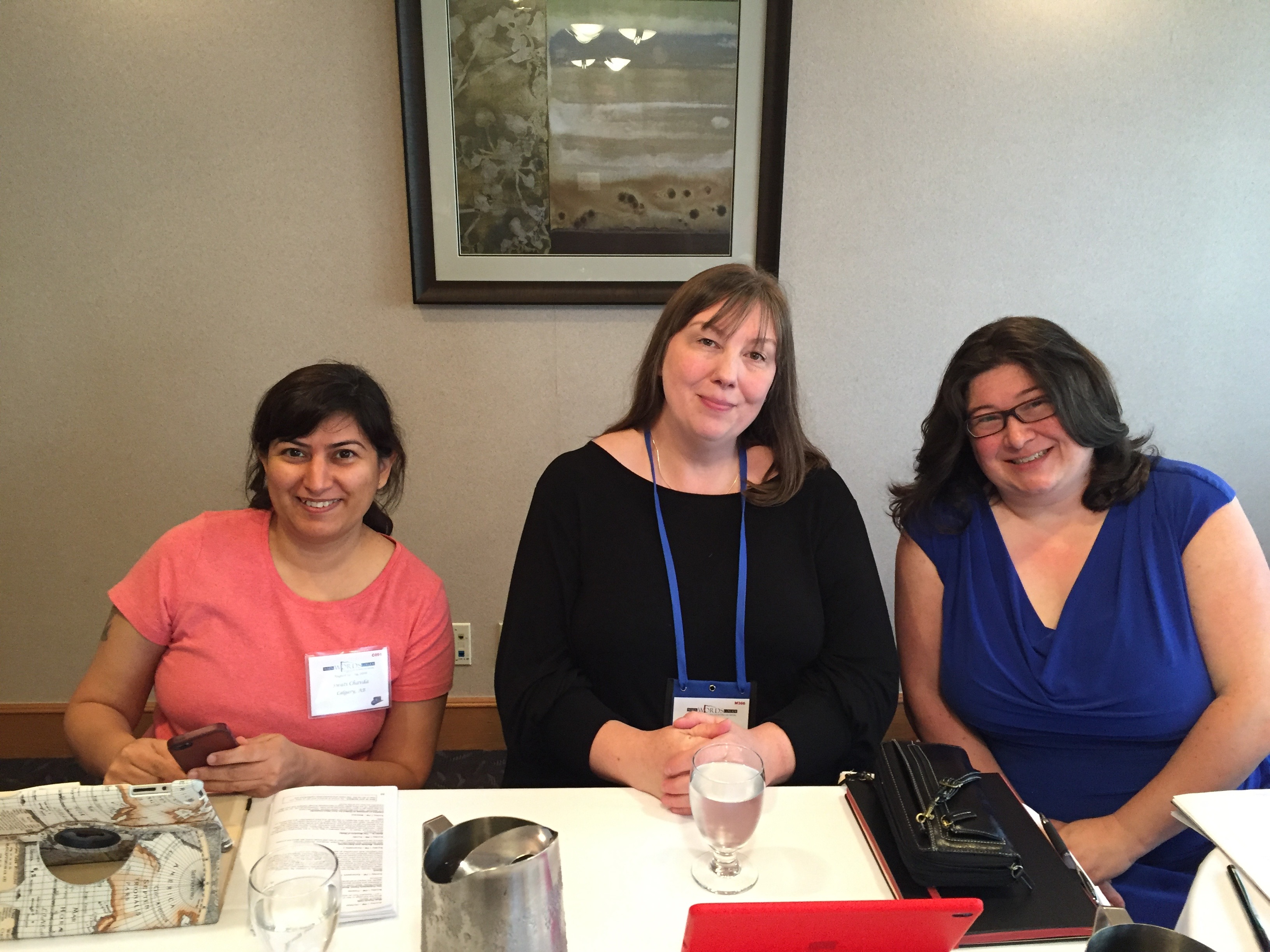 Swati Chavda, C.S. MacCath, and Claire McCague