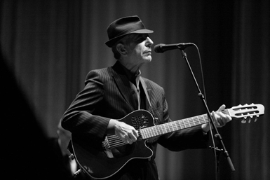 The great Leonard Cohen