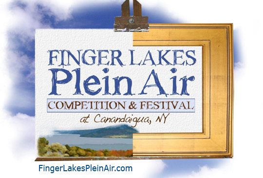 Finger Lakes Plein Air logo
