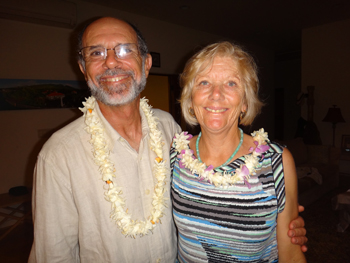 Seacology supporters Gordon Firestein and Doris Lang