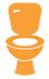 icon toilet