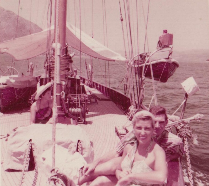 Cruising the Windward & Leeward Islands of the Caribbean aboard first Nicholson Charter Yacht, the 70' schooner MOLLIHAWK, owned by Commander V.E.B. Nicholson, circa 1953