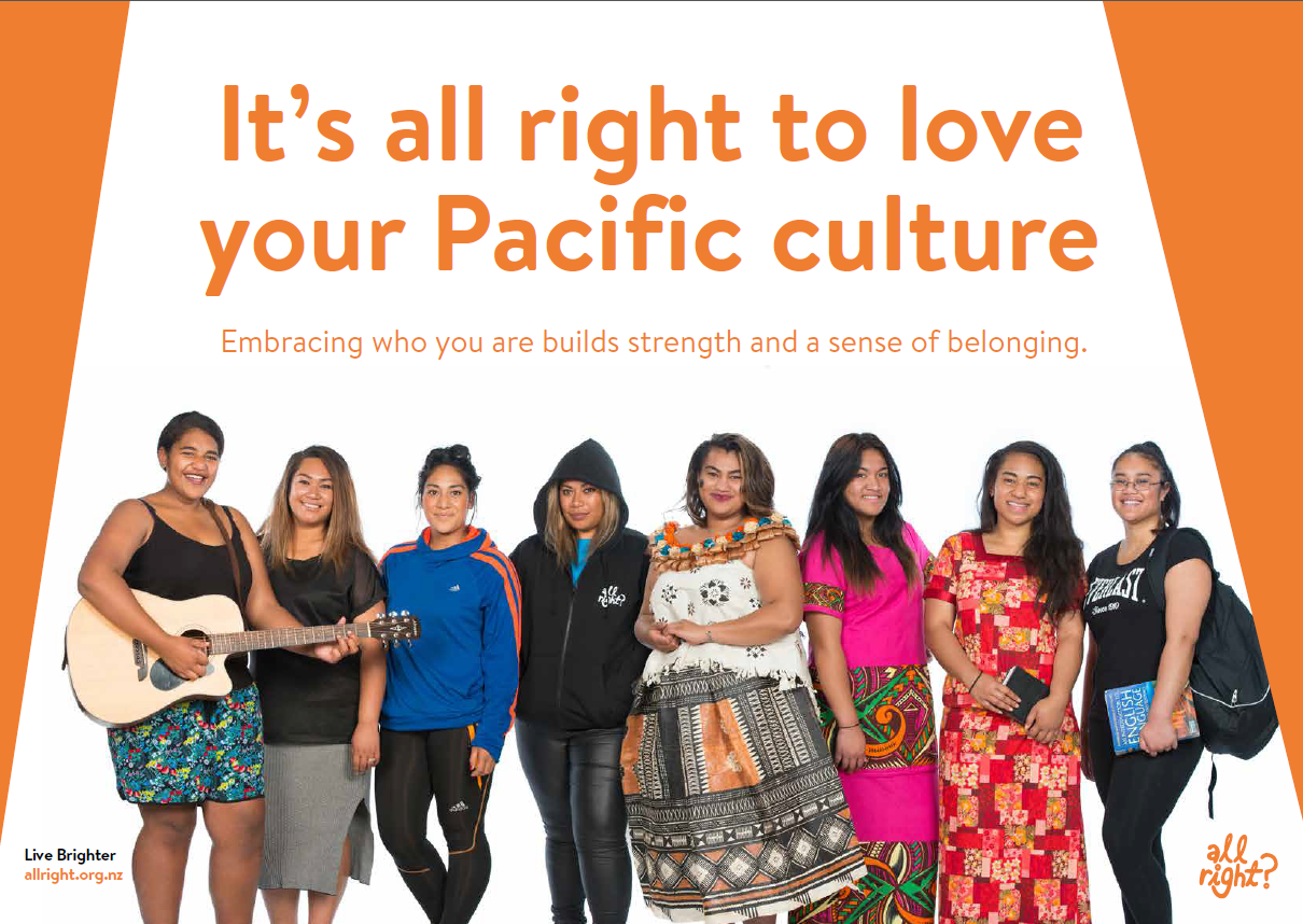 It's all right to love your Pacific culture.