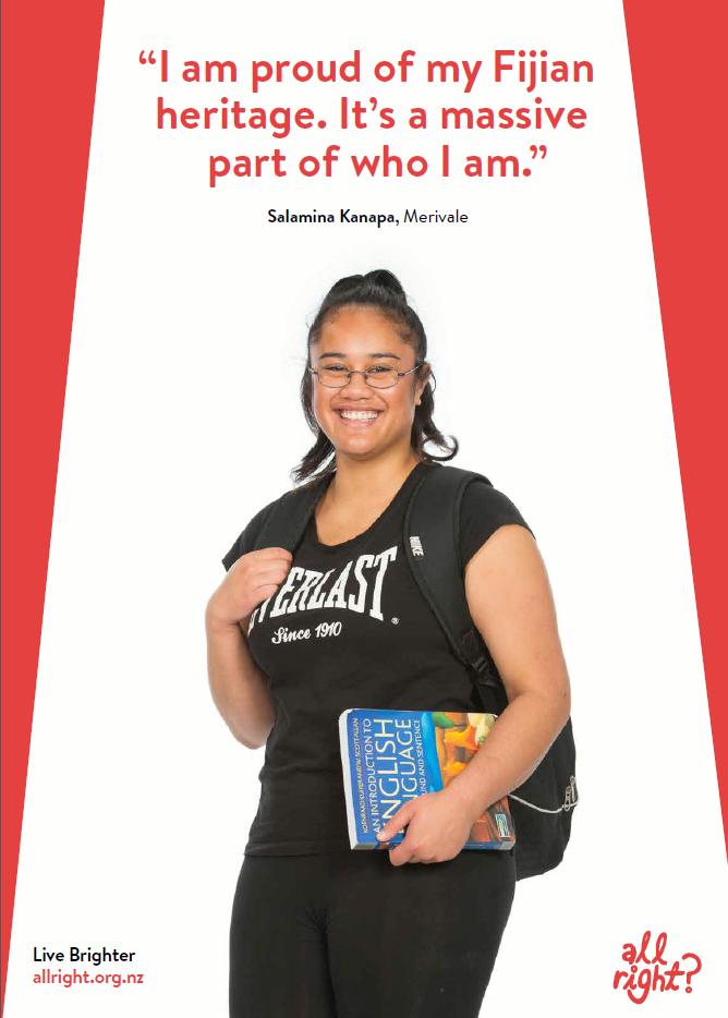 I'm proud of my Fijian heritage.