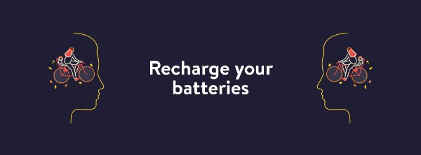 Recharge your batteries.