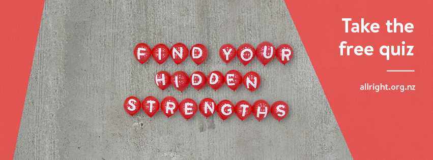 Find your hidden strengths: Take the free quiz.