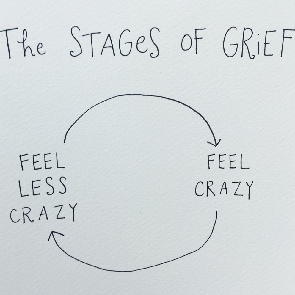 Stages of Grief by Mari Andrew.
