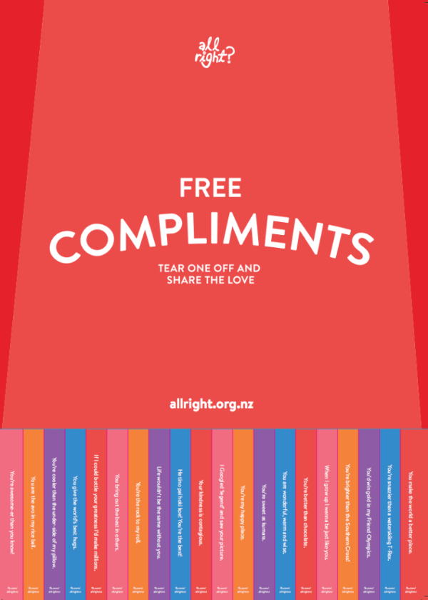 All Right? comliments poster.