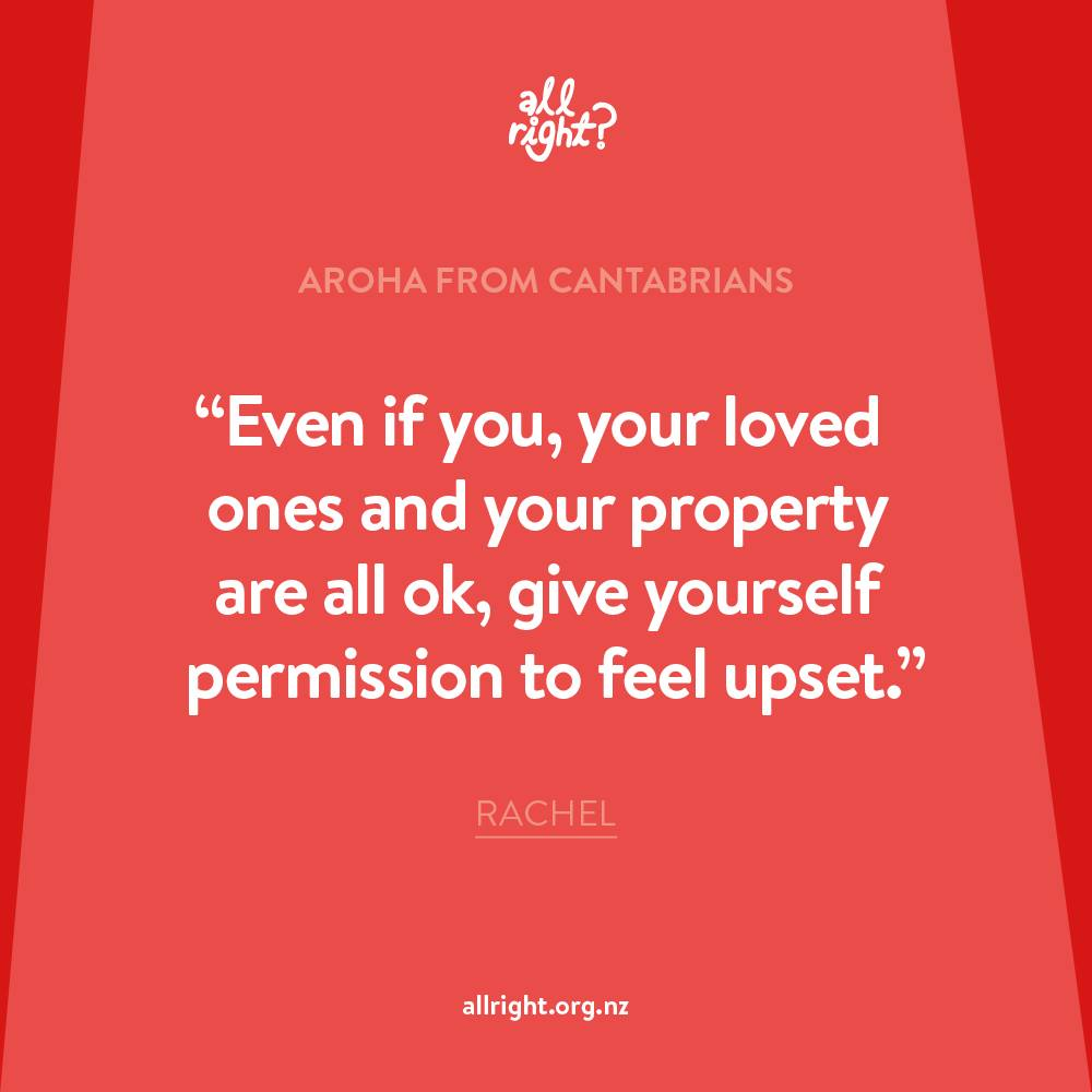 All Right? Aroha from Cantabrians.
