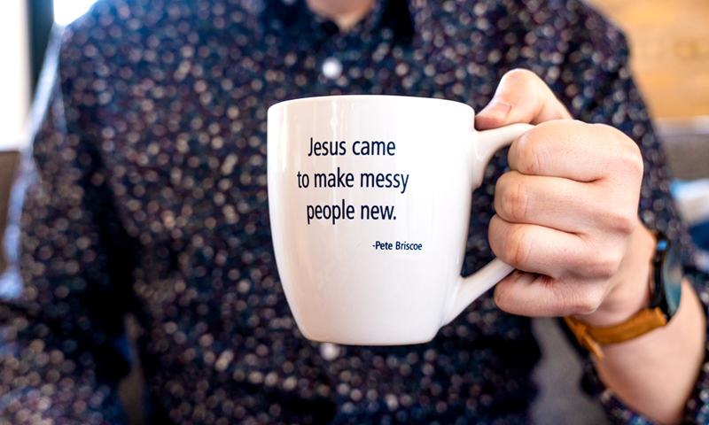 Quote Mug from Pete