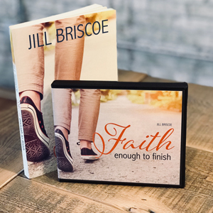 Photograph of Jill's resources Faith Enough to Finish