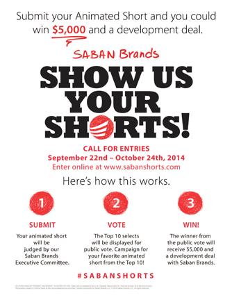 Saban Brands Show Us Your Shorts Contest