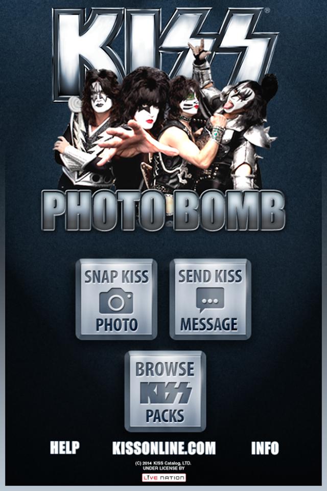 KISS Photo Bomb