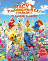 eruptor macy's thanksgiving day parade