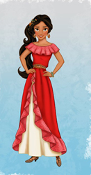 Disney Princess Elena
