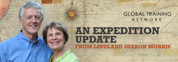 Sign up for Linus and Sharon's Expedition Update