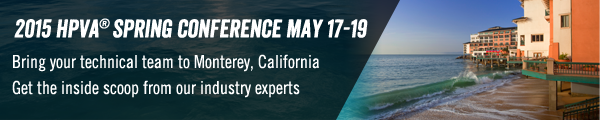 HPVA® 2015 Spring Conference