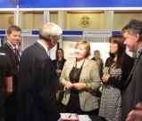 MP Michael Fallon meets Ruth Lowbridge