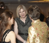 Teresa May with business women