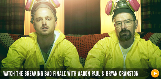 Watch the Breaking Bad finale with the cast!