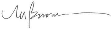 Michael Buonocore's signature