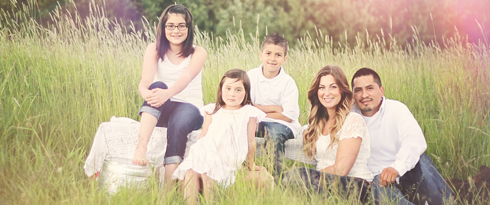 Heather Rivas and her family