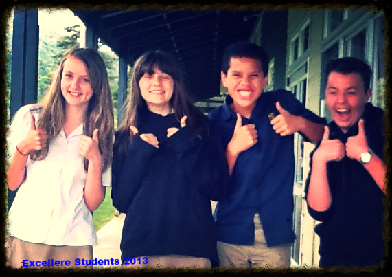 Thumbs up Students