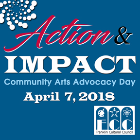SAVE THE DATE: Community Arts Advocacy Day - April 7, 2018
