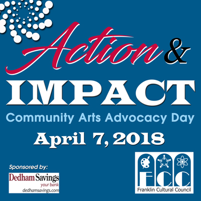 You're invited to Community Arts Advocacy Day 2018