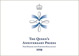 Queen's Annivesary Prizes logo