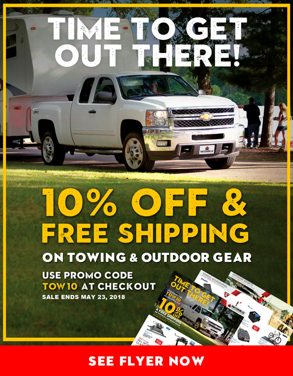 10% Off Towing & Outdoor Gear