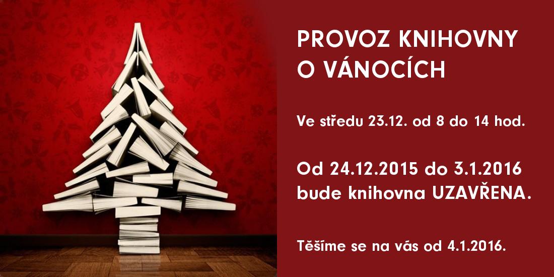 Provoz knihovny o Vánocích
