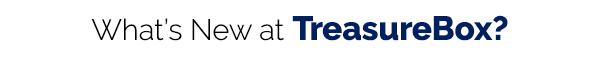 What's New at TreasureBox NZ